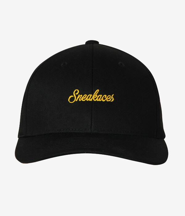 3fed28a472069 Home   Shop   Accessories   Hats   Caps   Swash Logo Black Curved Snapback